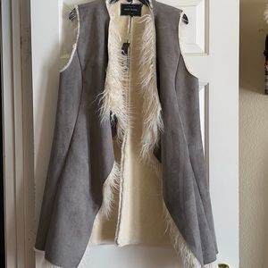 Vest Faux Fur Jacket